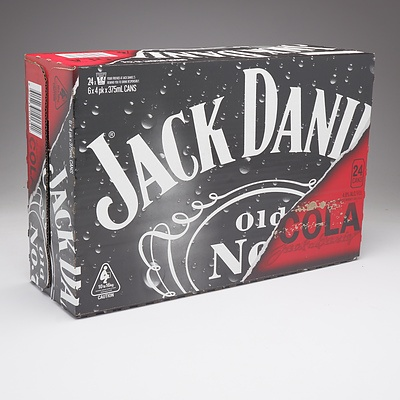 Jack Daniels and Cola Case 24 x 375 ml Cans