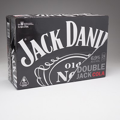 Jack Daniels Double Jack and Cola Case 24 x 375 ml Cans