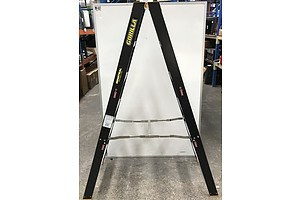 Gorilla Industrial Five Rung A-Frame Ladder