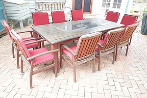 Leisure Garden Furniture Ten Seater Outdoor Suite