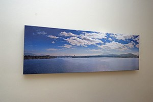 Canvas Print of Lake Burley Griffin