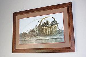 Rustic Framed Still Life Print