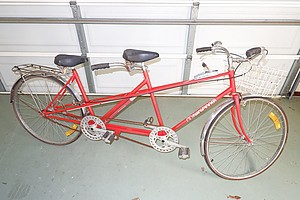 Vintage Tandem Bike with Sturmey Archer Three Speed Hub