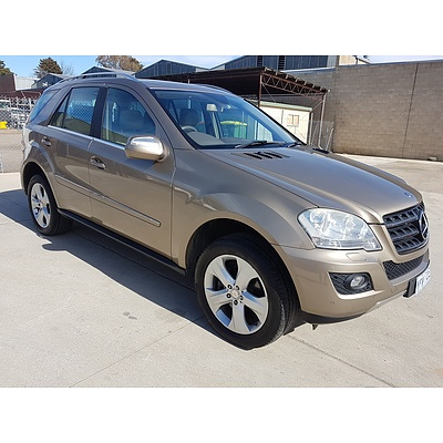 10/2008 Mercedes-Benz ML320 CDI Luxury (4x4) W164 08 UPGRADE 4d Wagon  3.0L