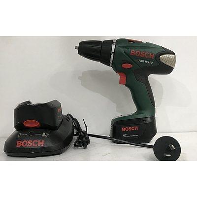 Bosch 18V 10mm Cordless Drill