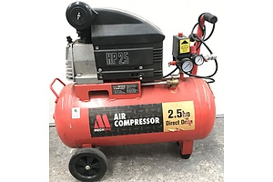 Mechpro 2.5 HP Direct Drive Air Compressor