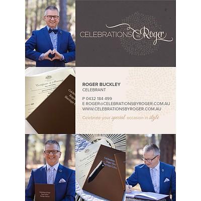 Celebrations By Roger Bespoke Ceremony Services Gift Voucher