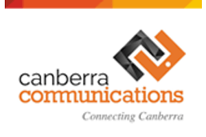 Professional Services provided by Canberra Communications