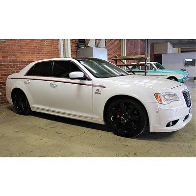 12/2012 Chrysler 300 SRT8 Pacer Replica MY12 4d Sedan White 6.4L