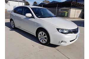 7/2008 Subaru Impreza R (awd) MY08 5d Hatchback White 2.0L
