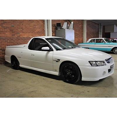 8/2006 Holden Commodore SS Thunder VZ MY06 UPGRADE Utility White 6.0L