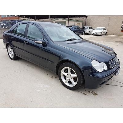 6/2001 Mercedes-Benz C180 Classic W203 4d Sedan  2.0L