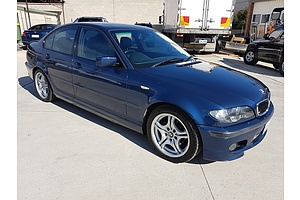 4/2004 Bmw 3 18i Executive E46 4d Sedan Blue 2.0L