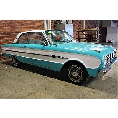 01/1963 Ford Falcon Futura (LHD) 2d Coupe Blue/White 2.8L