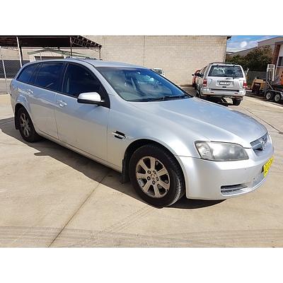 10/2008 Holden Commodore Omega VE MY09 4d Sportwagon Silver 3.6L
