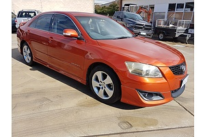 5/2008 Toyota Aurion Sportivo SX6 GSV40R 4d Sedan Orange 3.5L