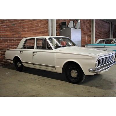 01/1964 Chrysler Valiant AP5 Regal 4dr Sedan White 3.7L
