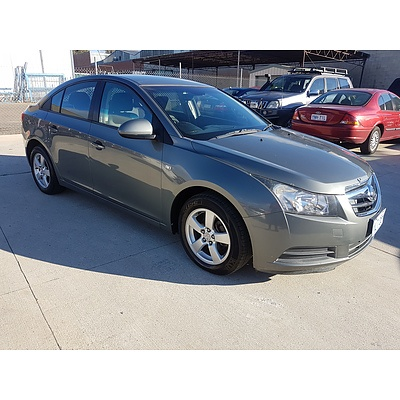6/2010 Holden Cruze CD JG 4d Sedan Grey 1.8L