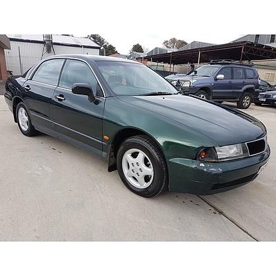 2/1998 Mitsubishi Magna Executive TF 4d Sedan Green 3.0L