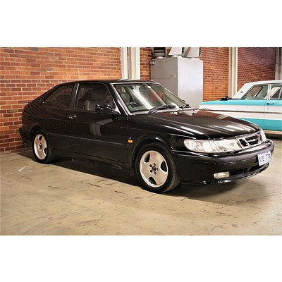 03/1999 Saab 9-3 S 2d Coupe Black 2.3L Turbo