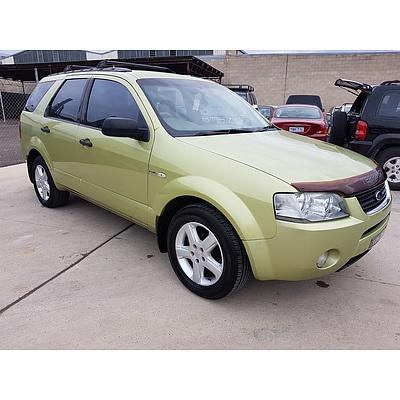 3/2005 Ford Territory TS (4x4) SX 4d Wagon Green 4.0L