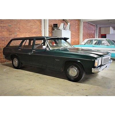 05/1976 Holden Kingswood SL HJ Station Wagon Green 3.3L
