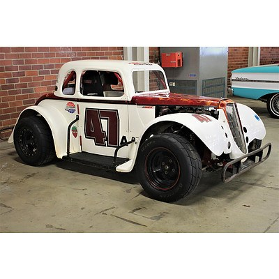 2013 Legend Car 34 Coupe Body White 1250cc