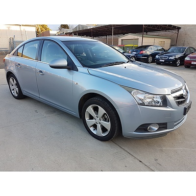 6/2009 Holden Cruze CDX JG 4d Sedan Blue 1.8L