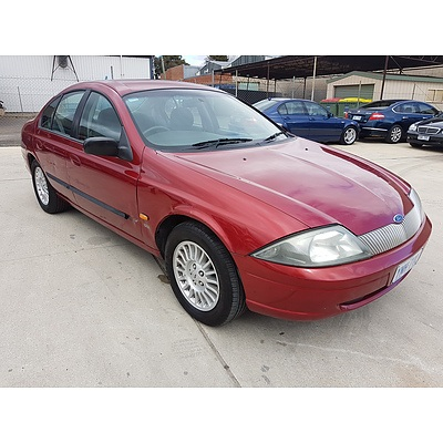 5/1999 Ford Falcon Forte AU 4d Sedan Red 4.0L