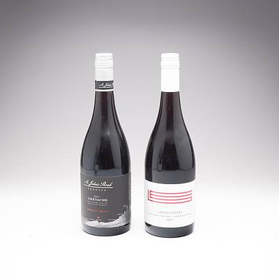 Lerida Estate Canberra District 2017 Lake George Pinot Noir and St Johns Road Barossa 2017 Grenache