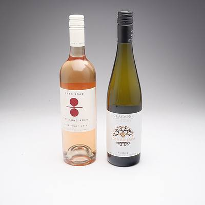 Eden Road 'The Long Road'2018 Pinot Gris and Claymore Clare Valley 'Joshua Tree'2013 Riesling