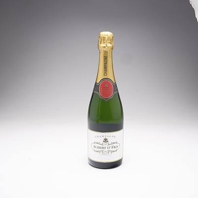 Aubert Et Fils Brut Champagne 750ml