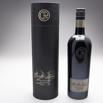 Chris Ringland 21st Anniversary Edition 2012 Barossa Ranges Shiraz in Presentation Case, Bottle Number 2277