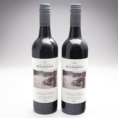 Bleasdale Broad Side 2107 Shiraz-Cabernet- Sauvignon- Malbec X Two Bottles