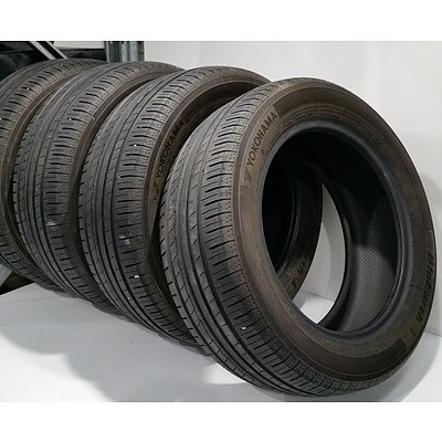 4 x Yokohama Bluearth 215/55R16 Tyres