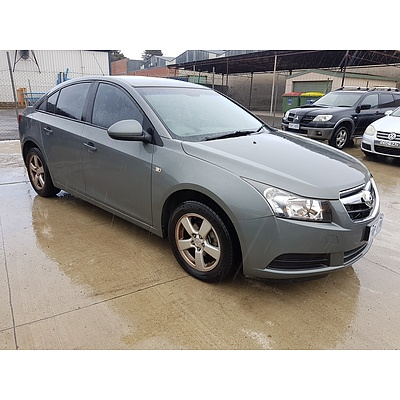 10/2010 Holden Cruze CD JG 4d Sedan Grey 1.8L