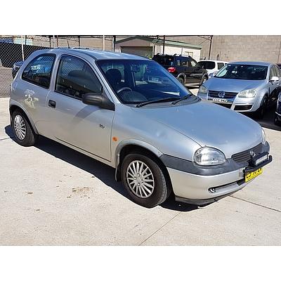 7/1999 Holden Barina CITY SB 3d Hatchback Silver 1.4L