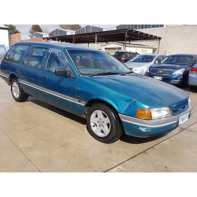 2/1993 Ford Falcon GLi EBII 4d Wagon Green 4.0L