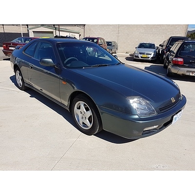 6/1998 Honda Prelude Si  2d Coupe Green 2.2L