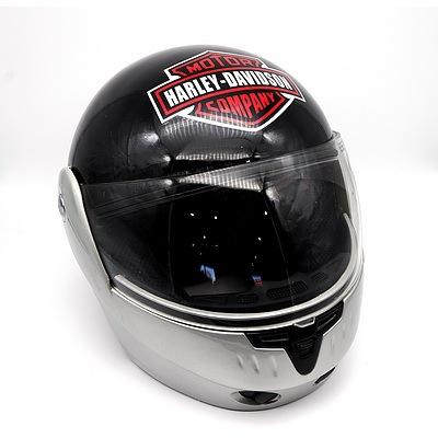 Harley Davidson Modular Motorbike Helmet
