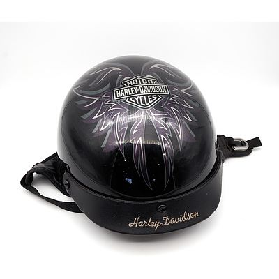 Harley Davidson Motorbike Helmet Size Large