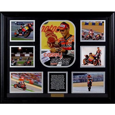 Limited Edition Framed Casey Stoner Presentation, 40 of 499