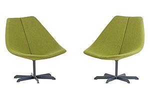 Pair of Gordon Andrews Rondo Chairs Circa 1959