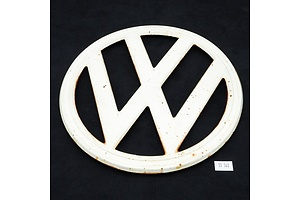 Vintage VW Kombi Badge, Circa 1950s
