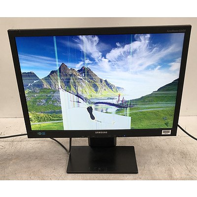 Samsung SyncMaster SA450 22-Inch Widescreen LED-backlit LCD Monitor - Lot of Two