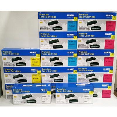Printec Imaging Premium Toner Cartridges - Lot of Fifteen