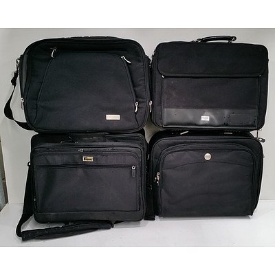 Lot of Four Laptop Bags