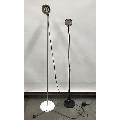 Floor Lamps -Lot Of Two