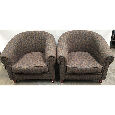 Upholstered Reception Chairs
