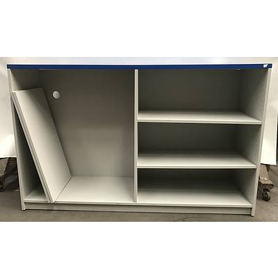Timber Laminate Office Bookcase